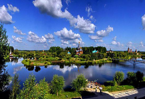 哈尔滨天气凉爽、旅游资源丰富。网络配图