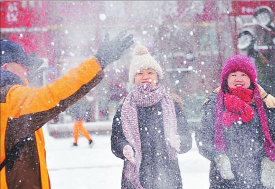 一场瑞雪冰城又到最美季