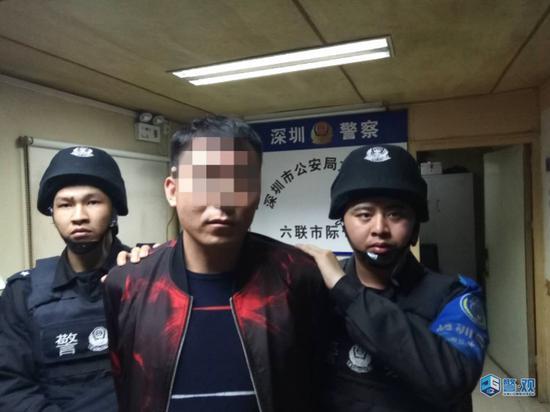 图片来源:深圳市公安局网站