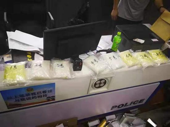 拆开快递 8盒封装完整的面膜里竟夹了5斤冰毒
