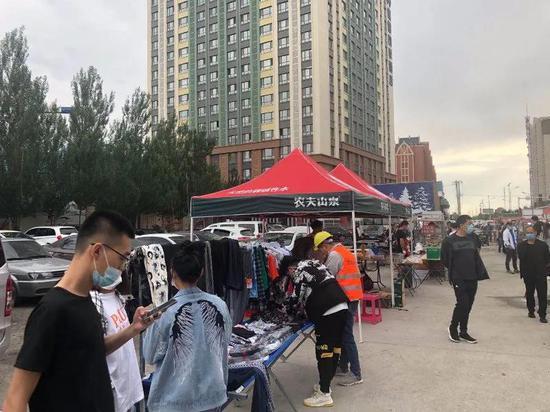 哈尔滨新区室外经营从4时到21时!开辟52处临时摊区