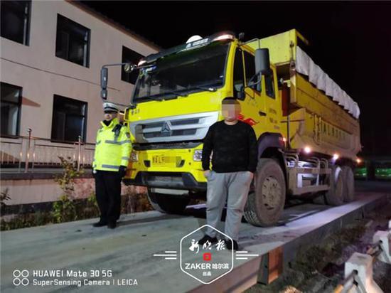 严罚!哈尔滨市交警两日夜查 再次查扣违法货车39台