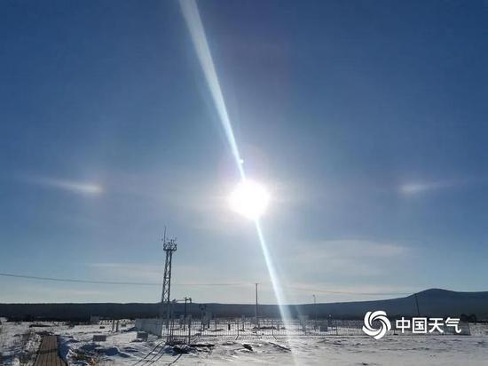 """哈尔滨天空惊现""""两个太阳"""" 二日当头照到底咋回事"""