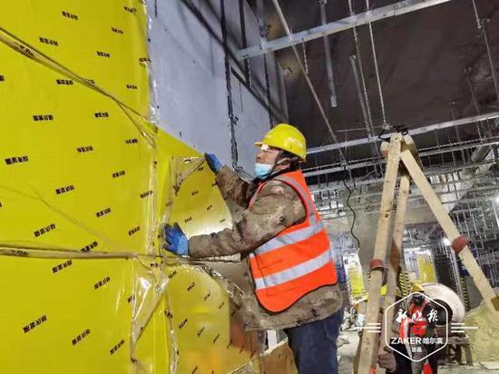 提前30天!地铁3号线二期东南环车站装修工程复工