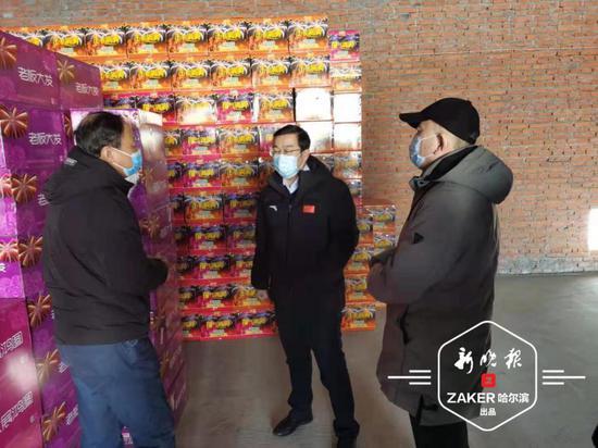 黑龙江省应急管理厅督导检查哈市烟花爆竹禁放工作