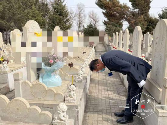清明节期间 哈尔滨市四公墓完成145份代祭服务