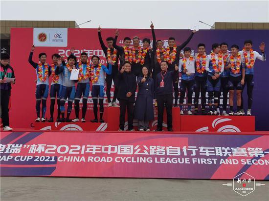 强势!全国公路自行车联赛第二站 龙江军团收获4金1银1铜