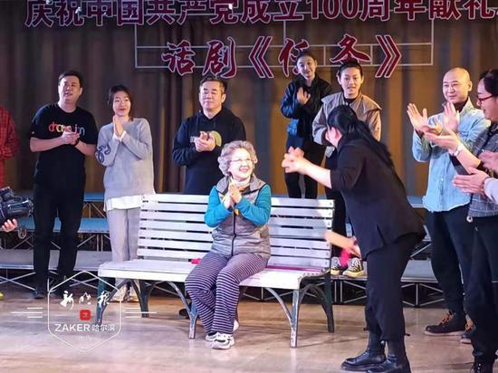 带着光荣使命完成《任务》 哈尔滨话剧院建党百年献礼剧4月中