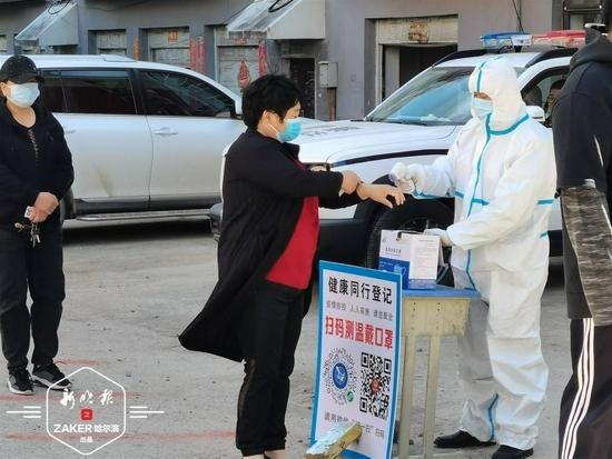 连续4天流调没停过 巴彦县兴隆镇开始第四轮核酸检测