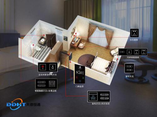 甚至在酒店客房控制系统的弱电完全断电的情况下