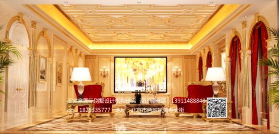 王文泉国际别墅设计机构法式风格新作