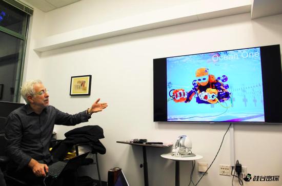 (硅谷密探采访斯坦福机器人实验室主任Oussama Khatib )