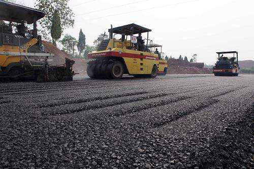 节约沥青2685吨 京哈项目实现沥青路面旧料循环利用