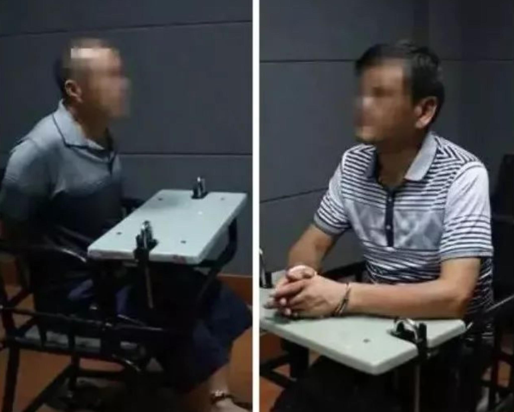 汪维明(左)和刘永彪(右)。 警方供图