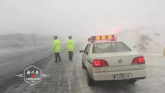 去雪乡玩留意天气 受雨夹雪影响景区道路结冰起雾