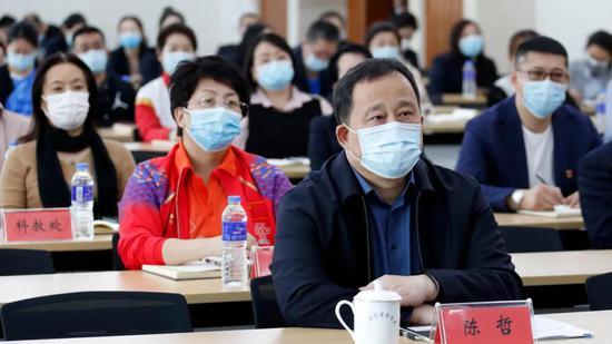 黑龙江省银河赌场局党组书记、局长陈哲
