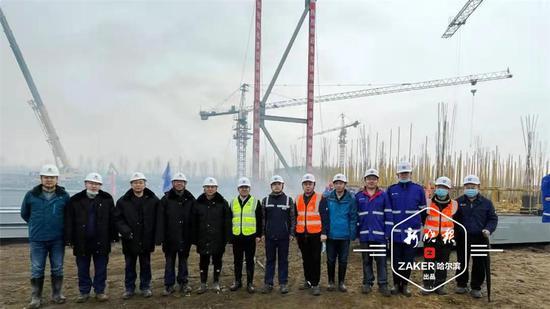 望奎重点民生项目 哈尔滨企业在疫情防控中抢时间建设