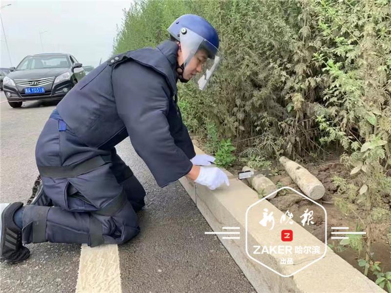 哈尔滨江北发现两枚日伪炮弹 一枚竟还有引信
