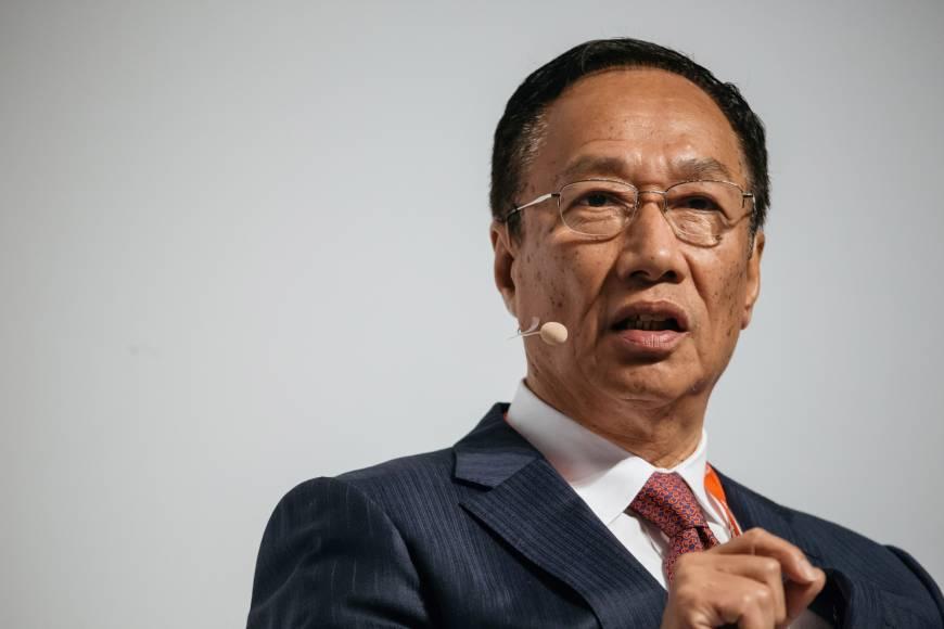 鸿海集团董事长郭台铭 资料图
