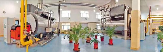 哈医科大学锅炉房燃气设备
