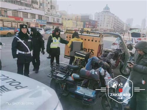 查扣470余台!哈尔滨市治理电动车违法行为