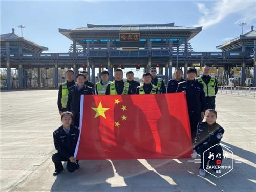 根据车流量分流优化疏堵 黑龙江高速公路应急保畅保通
