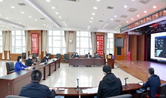 张庆伟:统一指挥协调联动确保流调高质高效