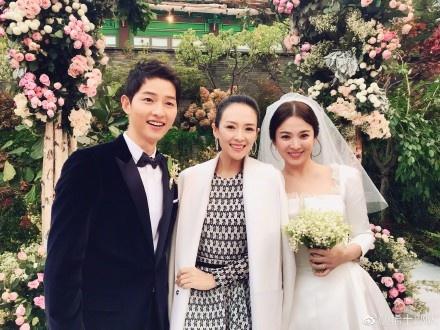 章子怡曾参加两人婚礼