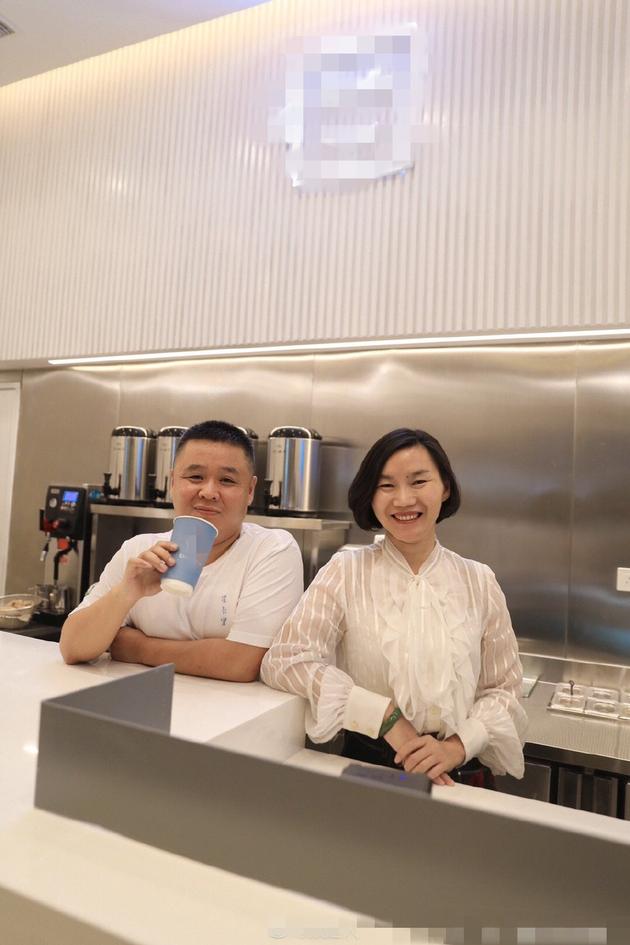 王俊凯父母开奶茶店