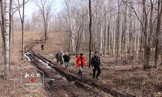 杜绝火种进山 林区开展森林防火巡查