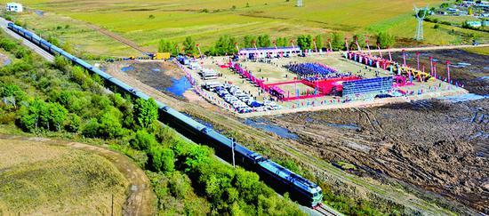 时速将提至160公里 北黑铁路升级改造工程开建