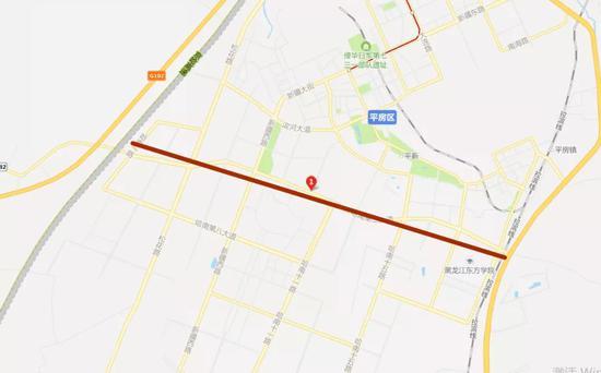 下个月哈尔滨将建一座立交桥 还有一路段要拓宽改造