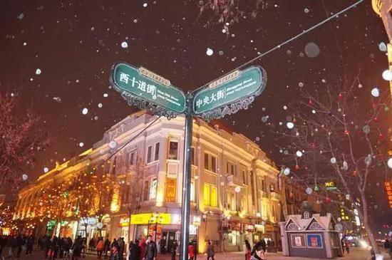 哈尔滨人节后上班第一周太刺激 有风有雪升温到0℃