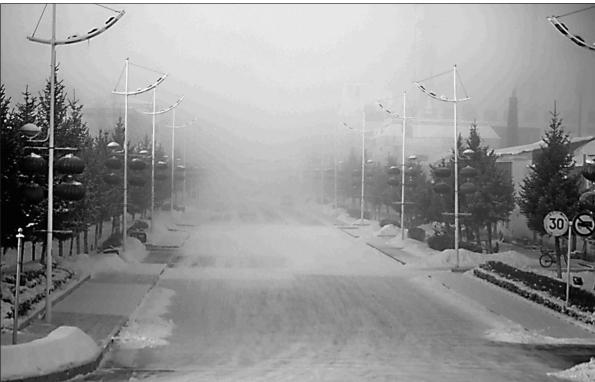 大兴安岭遭遇极寒天气 未来几天将现-47℃最低温
