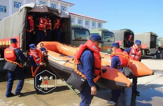 哈市消防部门抓演练 设55处汛期前置执勤点备战汛期