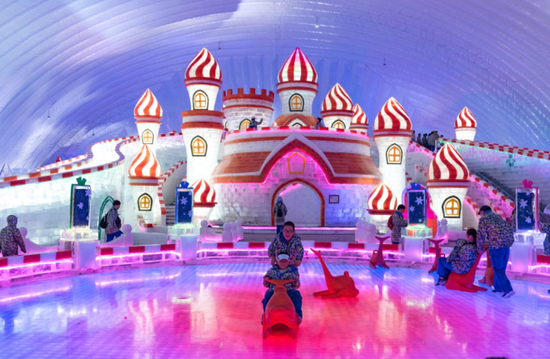 冰雪大世界室内主题乐园 Photo by去哪儿聪明旅行家 @笑飛雪