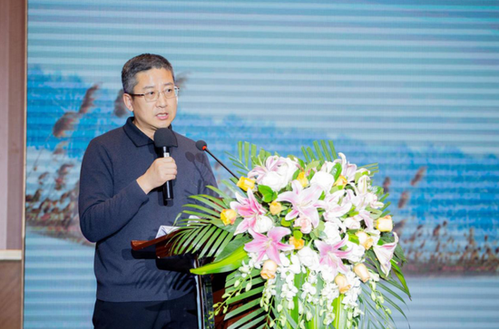 哈尔滨市文化广电和旅游局推广营销处副处长刘清刚致辞