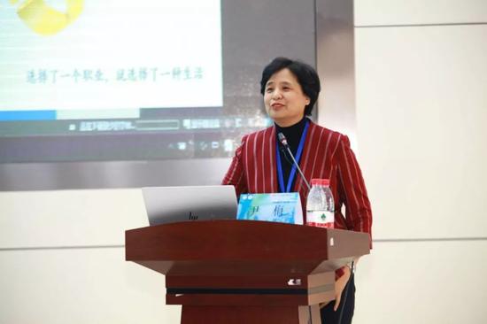哈尔滨医科大学人文社科学院院长尹梅教授讲座