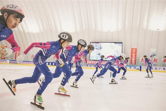 哈尔滨10座冰上运动中心滑起来 为冬奥会助威