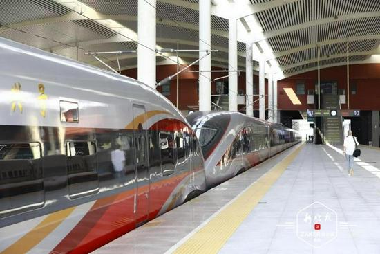 最新出行消息 哈铁增开恢复19.5对列车