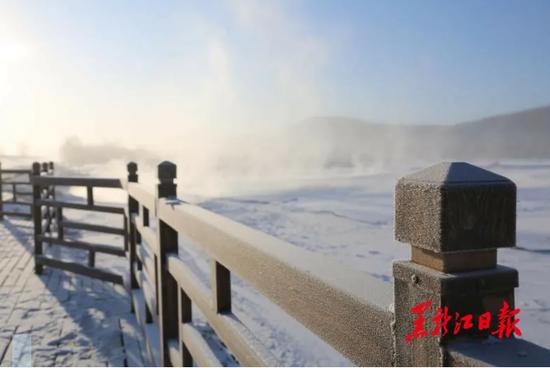 泼水成冰 -40℃!中国最冷小镇迎入冬气温最低值