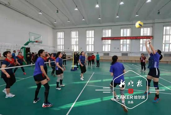 全国首个气排球学院落户哈尔滨开放大学