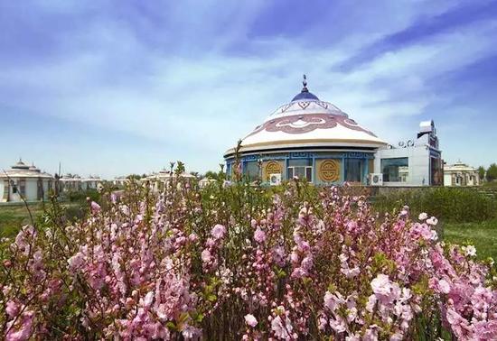 阿木塔蒙古风情岛
