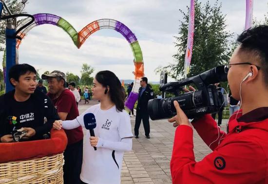 黑龙江都市频道采访中体飞行公司飞行员