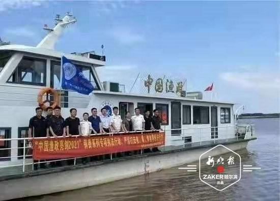 """黑吉两省启动""""省际共管"""" 联合执法保护渔业"""