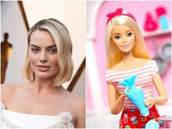 玛格特·罗比(Margot Robbie)主演芭比娃娃(Barbie)真人版
