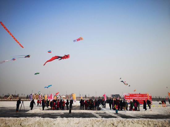 全国群众冬季运动推广普及活动(主会场)现场