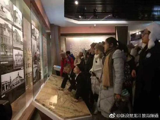研学之旅的第一站:哈尔滨规划展览馆