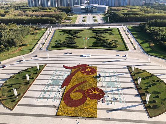 9月26日,大庆油田迎来发现60周年庆祝大会。澎湃新闻记者 赵实 摄