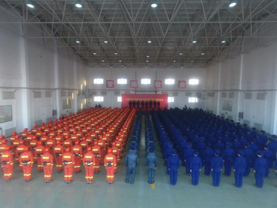 应急管理部森林消防局大庆航空救援支队2020年度开训首飞